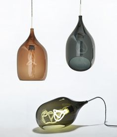 These pendants make me feel a little more willing to use CFL's...