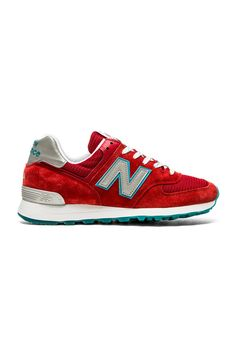 55c4e21609495 New Balance Made In USA US574 in Red Revolve Clothing
