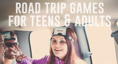 Road Trip Games for Teens & Adults | Kaylee Eylander DIY | Fun Road Trip Games rated G | Road Trip Game Tips