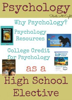 Psychology as a High