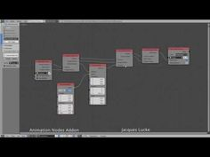 Cube Ocean and Polygon Effects - Animation Nodes Addon for Blender - YouTube