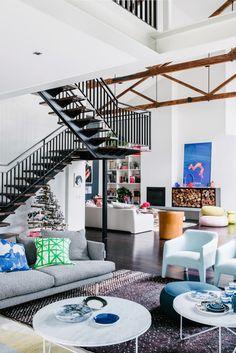 Home Tour: uma casa cheia de estilo e cores em Melbourne