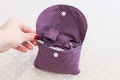 Un sac pliable pour les courses {DIY}   Les Lubies de Louise