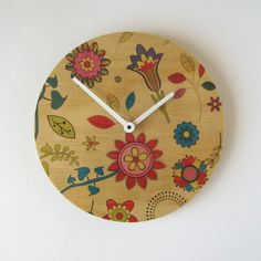 FREE+SHIPPING!    These+wall+clocks+are+made+from+sustainably+produced+Radiata+Pine+plywood.    Great+for+bedrooms,+the+kitchen+or+living+room.    Dimensions:+20cm+diameter+(7.87+inches)    These+wall+clocks+use+a+clock+movement+that+operates+very+quietly+and+they+require+a+small+amount+of+simple...