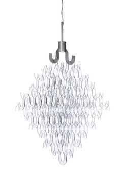 U FORM SMALL Acrylic chandelier by Örsjö Belysning #design Elisabeth Henriksson