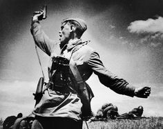 For decades this black and white photograph has symbolized victory in the Great Patriotic War. This young Red Army soldier with the TT-33 pistol in his hand has a very special place in Russians' id…