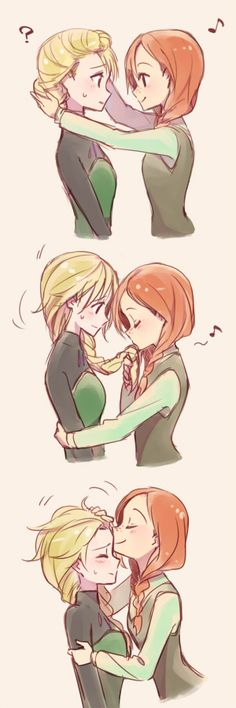Kingdom of Elsanna : Photo <--This is ADORABLE! I love it so much! <3
