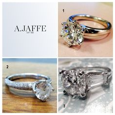 Which of these A.JAFFE engagement rings is your favorite?    3 = Style MES263  Find