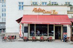 Karl-Marx-Allee | Schriftzüge Berlin, Stilnomaden Berlin, Karl Marx, Typo, Shopping, Old General Stores, Fancy Cars, Vintage Advertisements, Childhood Memories, Script Logo