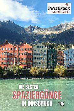 Die schönsten Spaziergänge in Innsbruck: Bilder & alle Infos für deinen SPAZIERGANG INNSBRUCK ⭐ Altstadtbummel, in den Park, am Inn oder zum Gipfelkreuz ✔️ die schönsten Spaziergänge der Stadt ️✔️ #tirol #innsbruck #spaziergang Parks, Walking Paths, Ski Resorts, Courtyard Gardens, Parkas