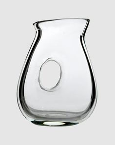 Jug with hole green