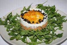 Cheesecake salata al gorgonzola e marmellata