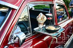 the good old car hop...forget the car hop...what about that Big sundae....