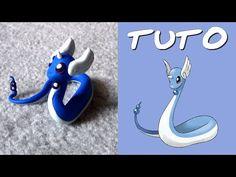 TUTO FIMO | Minidraco / Dratini (de Pokémon) - YouTube