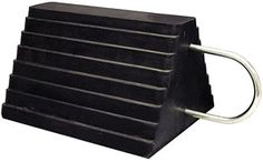 WHEEL CHOCK WC1086UWH : WHEEL CHOCK RUBBER W/U-SHAPED WIRE HDL. Call 1-866-658-7952 for pricing and availability.