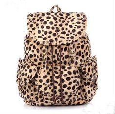 Cool Leopard Fashion Backpack Bag