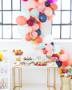 Scheming up ideas for some Summer parties any grand colorful ideas you'd like to see? So far this bridal shower we got to host takes the cake for winner of the year as of right now  #sugarandcloth by sugarandcloth