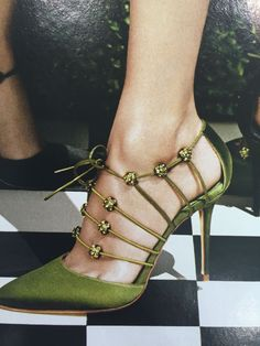Manolo Blahnik...always magnificent !!                                                                                                                                                      More