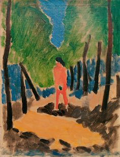 Henri Matisse - Nude in a Forest - 1909
