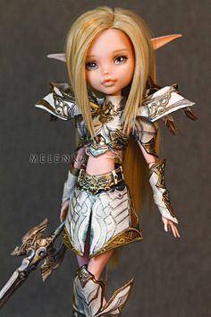 Vivien swordsinger Lineage2 by melenka