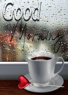Good Morning Rainy Day, Good Morning Gift, Good Morning Coffee Gif, Good Morning Flowers Gif, Latest Good Morning, Good Morning Greetings, Beautiful Morning Pictures, Good Morning Picture, Good Morning Beautiful Gif