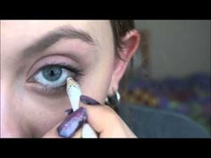 Luna Lovegood Inspired Hair and Makeup - YouTube                                                                                                                                                                                 More