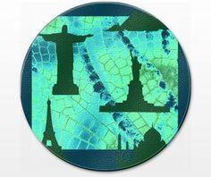 Cutting board  390 x 285 mm MWL Design 20150725003 from Download Art MWL Design NL by DaWanda.com