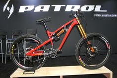 The Patrol Brand Launches in the US, Teases 2 Brand-New Bikes at Interbike - Singletracks Mountain Bike News Bmx Bikes, Cycling Bikes, Cool Bikes, Mountain Bike Brands, Mountain Biking, Downhill Bike, Bike News, Fat Bike, Cool Gear