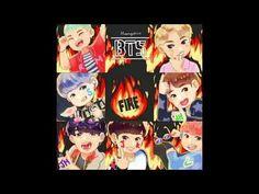 BTS (방탄소년단) - Fire (Nightcore) - YouTube