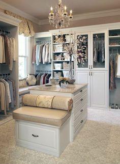luxus kleiderschrank-begehbar hocker | villa | pinterest | blog - Begehbarer Kleiderschrank Nutzlicher Zusatz Zuhause