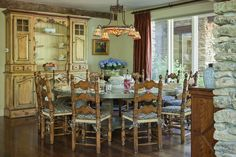 Old Style Dining Room......