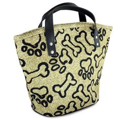 Park B Smith Ltd PB Paws & Co. Small Puppy Paws Tapestry Tote Bag & Reviews | Wayfair  entry storage