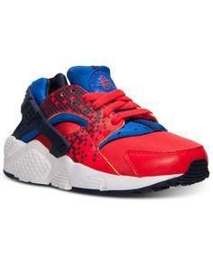Nike Boys' Huarache Run Print Running Sneakers from Finish Line Running Sneakers, Sneakers Nike, Tinker Hatfield, Huarache Run, Finish Line, Kid Shoes, Big Boys, Baby Kids, Athletic Shoes