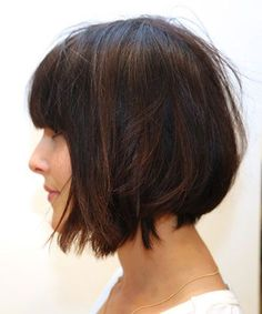 Best Short Bob Haircuts 2015 With Bangs