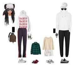 """""""Sans titre #451"""" by jjjjkuyuoi on Polyvore featuring mode, Topshop, Gucci, adidas, STELLA McCARTNEY, Louis Vuitton, H&M, Vans, Topman et Rolex"""
