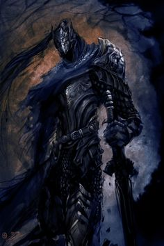 If you want to see the hourly progress shots I posted them here Some fan art of Artorias the Abysswalker from Dark souls. I cant rave enough about the pitch perfect design direction of darksouls, but I also. Dark Souls 3, Arte Dark Souls, Wolf Knight, Knight Armor, Dark Knight, Dark Souls Artorias, Soul Saga, Bloodborne Art, Fantasy Warrior