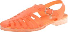 Women's Dantri Fisherman Sandal,Electric Coral M US Jelly Shoes, Jelly Sandals, Flat Sandals, Pin Image, Image Link, Ethnic Fashion, Womens Flats, Fashion Shoes, Coral