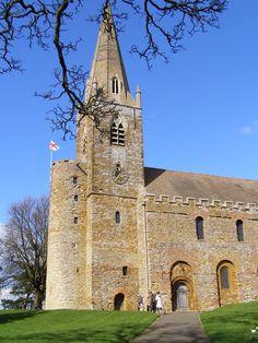 Saxon Church, Brixworth, England