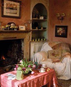 Miss Marple's sitting room
