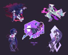 92 Best Talon Family Images Videogames Overwatch Fan Art Shades