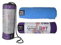 Matthandduk (standardmatta) Grip Dot - Yoga-Mad Meditation Cushion, Dots, Purple, Mad, Stitches, Meditation Pillow, Viola