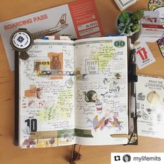 ❤️ Thanks ✨@mylifemits ✨, you are such an inspiration! ・・・ ✈︎✈︎✈︎ Join this amazing community to see the latest and greatest. We share the best journaling pictures and ideas daily. . . . #journal #repost