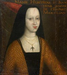 Mary of Burgandy and Archduchess of Austria,(1457-1482), cousin of John II, Duke of Cleves, Anne of Cleves grandfather. John II had been educated in the Burgundian Court along with Mary, the heiress of Charles the Bold. John II and John III had close family ties with the Court of Burgundy and it was though their territories that French culture spread to Germany.