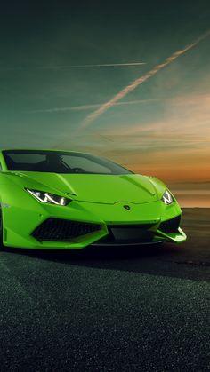 Lamborghini 2019 - 2020 Wallpaper - My best classic car list Lamborghini Huracan, Green Lamborghini, Sports Cars Lamborghini, Wallpaper Free, Lamborghini Centenario, New Luxury Cars, Best Classic Cars, Top Cars, Drag Cars