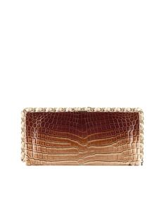 Chanel Alligator Clutch with Chain Edging - Cruise 2014