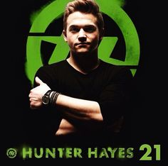 Hunter Hayes 21 - Gonna be up all night chasing the sunrise like we're wild and young baby, kids on the run gonna party like we just turned 21!!!