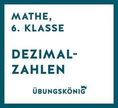 Brüche und Bruchrechnen, Mathe, 6. Klasse   School   Pinterest ...