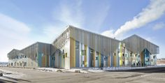Image 1 of 38 from gallery of Kalasatama School and Day Care / JKMM Architects. Photograph by  Studio Hans Koistinen