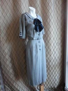 50s Dress // 60s Dress // Vintage 1950s by RobinandWrenVintage, $128.00