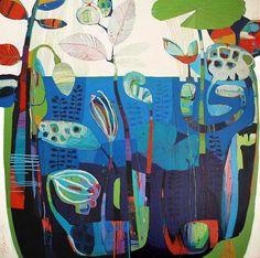TIFFANY CALDER KINGSTON - TCK SUBMERGE, Acrylic on canvas